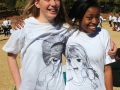Sarah Price and Claudia Mabuza grade 12