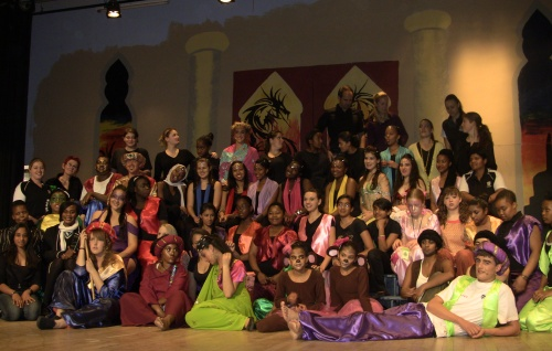 Aladdin cast and crew