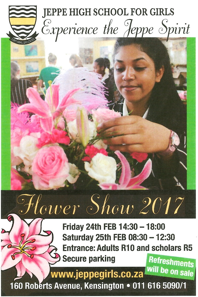 Join Us For Our 89th Flower Show On 24th And 25th February